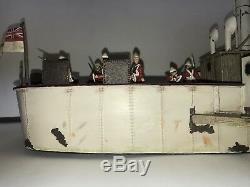 W Britain War Along Nile Gunboat 27043 WAN Boat NIB New Britains
