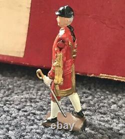 W Britains #1475 BEEFEATERS (YEOMEN) OUTRIDERS FOOTMEN ROYAL HOUSEHOLD
