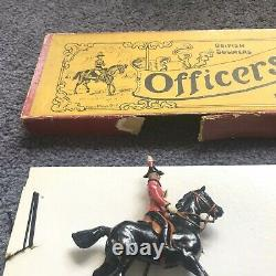 W Britains #201 OFFICERS OF THE GENERAL STAFF Pre-War, Whisstock Box