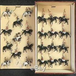 W Britains 2085 Musical Ride Household CAVALRY Lancers ROAN Box