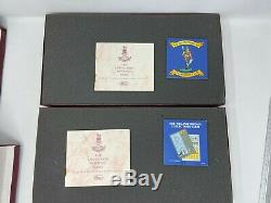 W Britains 5195 & 5295 Life Guards Mounted Band Set 1 & Set 2, Ltd Ed