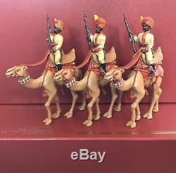 W Britains Delhi Durbar 40185 Bikanir Camel Corps 6 pc glossy 54mm