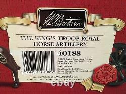 W. Britains Ltd Ed #0214 Of 2000 Set 40188 The Kings Troop Royal Horse Artillery