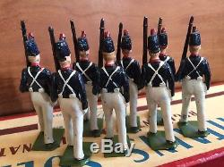 W Britains No. 221 Uruguayan Military School Cadets (Alummos de la Escuela) Box