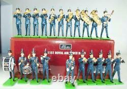 W. Britains Royal Airforce Marching Band Set #41151 MIB