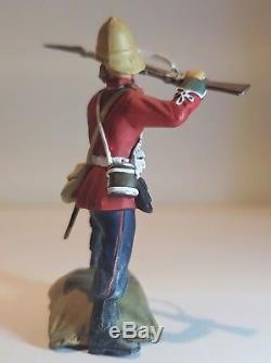 W Britains ZULU WAR Defending The Wall 24th Foot & Udloko Warrior Set no 20029