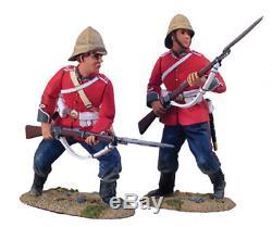 W Britains Zulu War 20013 British 24th Foot Defending Set No. 2 (uv2)