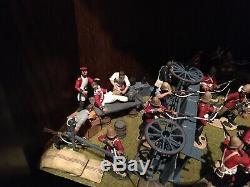W Britains Zulu toy soldiers Set