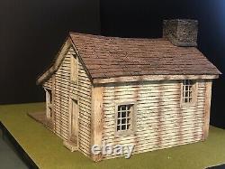W Britians ACW North American Farmhouse 51004 Retired And Rare