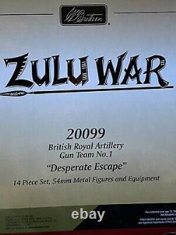 W britains toy soldiers zulu 20099 Desperate Escape
