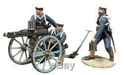 W britains war along the nile british naval gatling gun and crew 27038