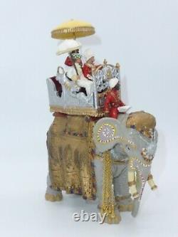 William Britain Delhi Durbar Duke & Duchess of Connaught on State Elephant 08956