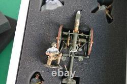 William Britain WW1 23021 Br. Royal Field artillery 18 Pound Gun & Crew 1916