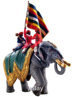 William Britains Delhi Durbar Jaipur Elephant with Standard Bearer 22000