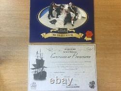 William Britains Nelson Death Scene Victory Oak Limited Edition 41143