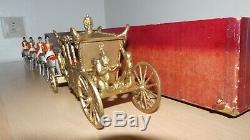 William Britains Set #1470 State Coronation Gilt Coach