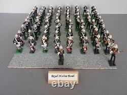 William Britains Toy Soldiers Royal Marines Marching Band