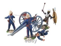 William Britains Zulu British Royal Artillery 7 Pound Gun and Crew 20089