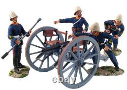 William Britains Zulu War British Royal Artillery 7 Pound Gun and Crew 20086