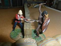 Wm. Britain Zulu War figure #20084 Warrior Twilight