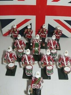 Wm. Britains Royal Welsh Corps Of Drums 2d Bn 24th Foot 1879 #48008 Ltd Edition