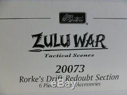 Wm. Britains Zulu War Rorke's Drift accessories