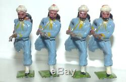 XX20 Britains boxed set No. 191 Turcos. Early 1920s version