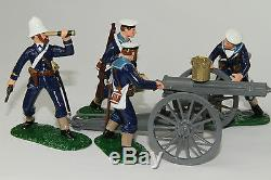 ZW24 Royal Navy Gatling Gun and Crew, Zulu War of 1879 by Regal Toy Soldiers